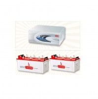 V GUARD DU1400 PLUS + 150AH BATTERY X 2